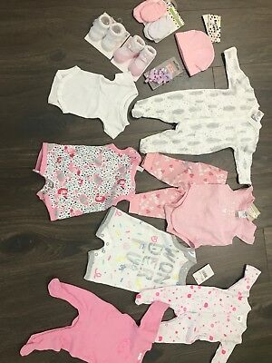 Baby Girls Bundle 0-3months