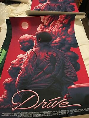 SDCC Comic Con Exclusive Mondo Boris Pelcer Drive Poster SOLD OUT IN HAND