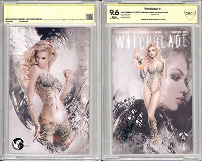 Witchblade #1 (Unknown Comics Exclusive Variant) CBCS 9.6 signed Natali Sanders
