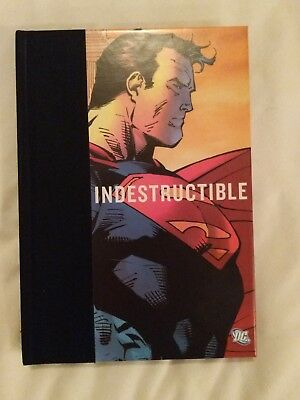 SDCC 2018 Comic Con Superman Brand Indestructible Inspirational DC Book Jim Lee