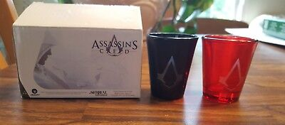 NWT Assassin's Creed Shot Glass Set LootCrate DX Exclusive free ship in US!
