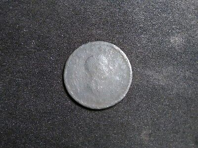 Half Penny 1806 Great Britain George Iii Edge With Groove Barely Readable Text