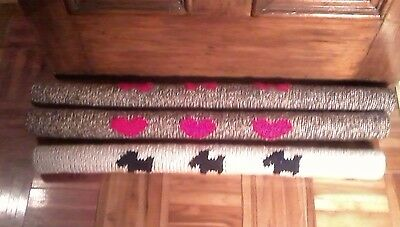 Draught Excluder Knitting Pattern 2 Designs, 3 Sizes, 2 Styles Quick Chunky Knit