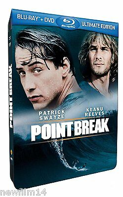 Point Break Blu Ray Steelbook Metalica Le Llaman Bodhi Nuevo ( Sin Abrir )