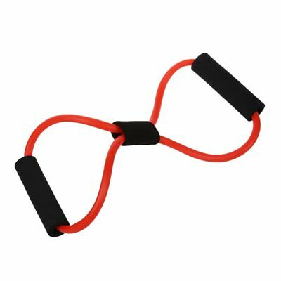 Resistance Band Tube Fitness Muscle Workout Exercise Cord Elastic 8 Type Y1Y2