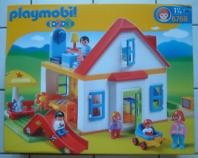 Playmobil 123 Einfamilienhaus 6768 Haus First Smile Home Coffret