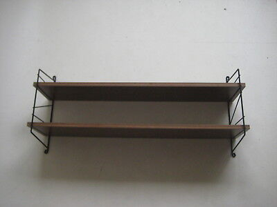 60er 70er # String Regal # Shelf Unit # Regalsystem Wandregal # Vintage Retro