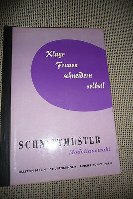 Alter- Schnittmuster-Katalog Collection 50-60er Jahre  ca.95 Seiten  in Farbe