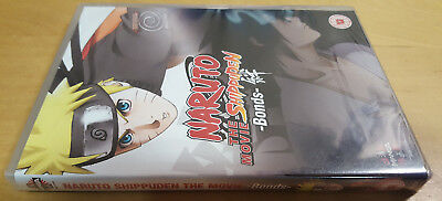Naruto Shippuden The Movie Bonds Dvd Pal Region 2 Free Uk P&p New & Sealed