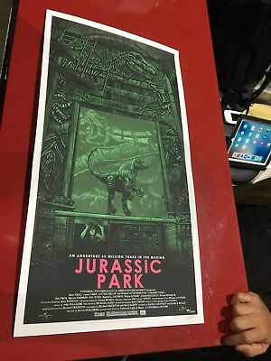 Mondo - Daniel Danger - SDCC 2018 exclusive Jurassic Park print SOLD OUT IN HAND