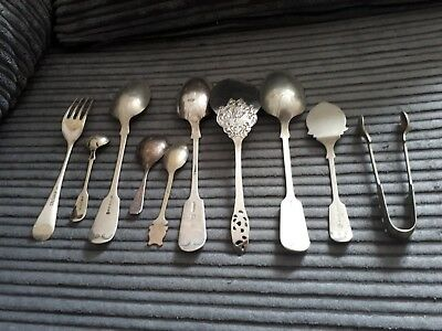 Job Lot Vintage Silver Plated Cutlery..