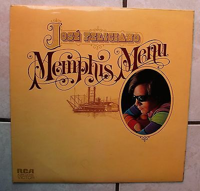 Jose Feliciano - Memphis Menu  // RCA SF 8309  (UK)