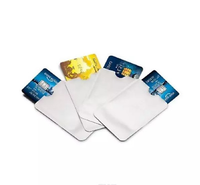 12 Pack Anti Theft Credit Card Protector RFID Blocking Safety Sleeve Shield