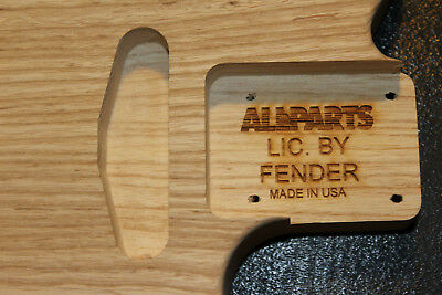 Allparts Swamp Ash Thinline Telecaster Body LIC. BY FENDER Made in USA