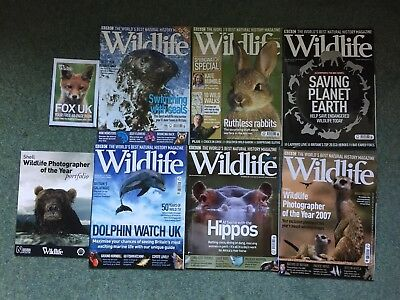 BBC Wildlife Magazine x 6 May 2007 - October 2007