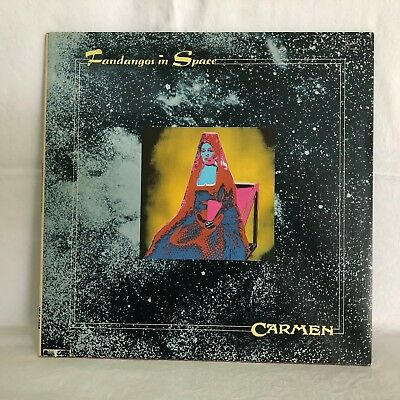 CARMEN - Fandangos In Space -  LP UK 1st press Regal Original Vinyl Records