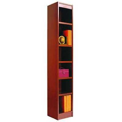 "Narrow Bookcase,6Shelf,12x72"",Cherry ALERA ALEBCS67212MC"