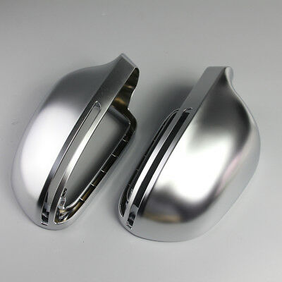 Audi A5 S5 RS5 2007-2009 Matt chrome side wing mirror covers caps - OEM fit