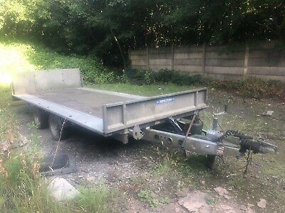 ifor williams  Car trailer Tilt Bed 3500kg Plat Bed