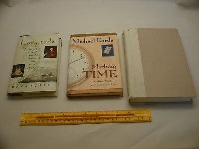 Book 398 – Lot of 3 watch and clock books