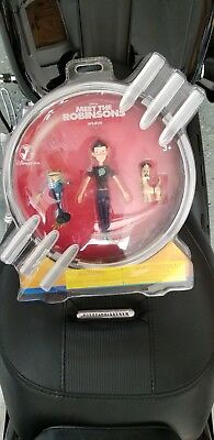 NEW  Disney Store Meet the Robinsons Figurine Figure Set of 6  NOS SEALED in BOX
