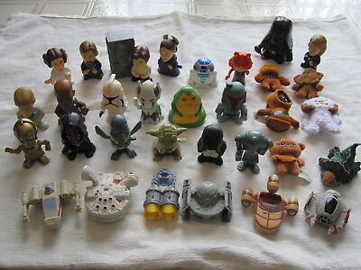 31 COMPLETE SET The Super Star Wars Episode III Collection - Burger King 2005