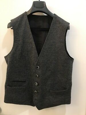 $280 Hugo Boss REVERSIBLE Vest Size 40R 50