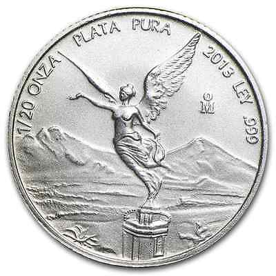 2013 ~1/20~Oz ~ Silver Libertad ~ Brilliant Uncirculated ~ Low Mintage ! ~ $7.88