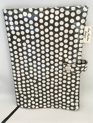 A5 Diary Cover,Journal Cover,Nurses Diary Cover,Week To View Cover,black Spotty