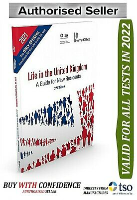 Life in the UK TEST OFFICIAL Handbook 3rd edition Citizenship Book 2019- lf