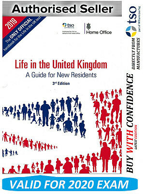 Life in the United Kingdom UK Handbook 3rd Edition Citizenship Test Book-2020 Lf
