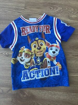 Boys Paw Patrol Top, Age 1 1/2 - 2 Years, 18-24 months Great Condition