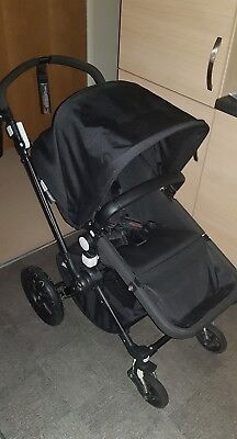 Bugaboo Cameleon 3 Black Pushchairs Single Seat Stroller
