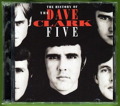 The Dave Clark Five THE HISTORY OF 2CD (RARE) w/32-pg booklet MINT!