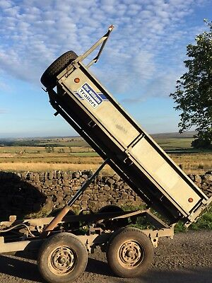 Ifor Williams Tipping Trailer. Builders Tipper, Dump, Soil, Rubble, Ivor TT85G