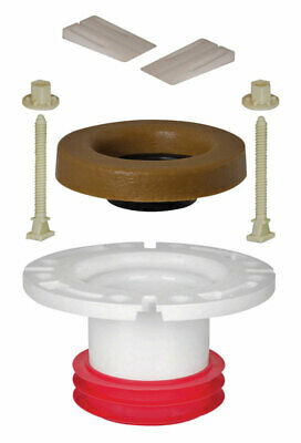 Sioux Chief Closet Flange Repair Kit Push-Tite Pvc 4 ""