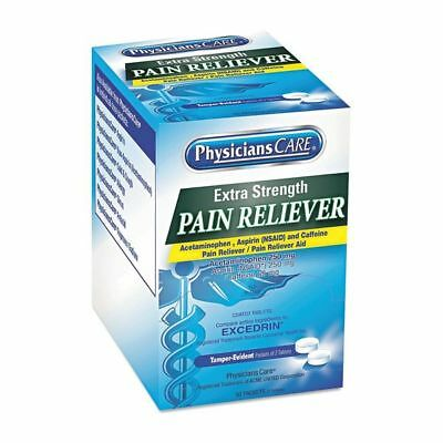 PHYSICIANSCARE ACM90316 Extra-Strength Pain Reliever,PK50