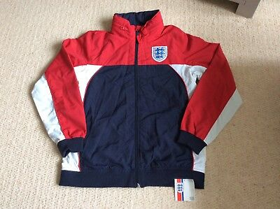 Fantastic Bnwt Junior England Zip Shell Jacket. Marks And Spencer. Age 13-14Yrs