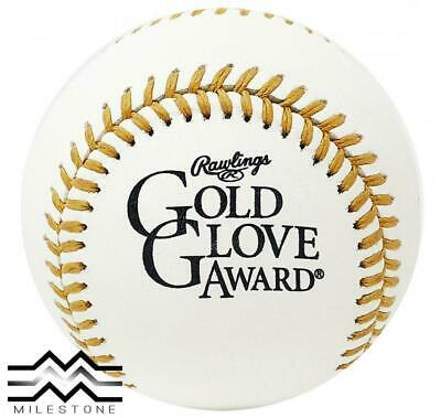 (12) Rawlings Official MLB Gold Glove Award Commemorative Baseball Boxed - Dozen