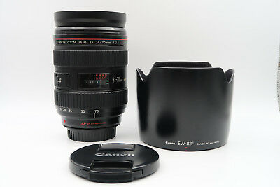 Canon EF 24-70mm f/2.8 L USM 24-70 mm 2.8 for 5D 1DX 6D 7D mark ii 60D 70D 80D