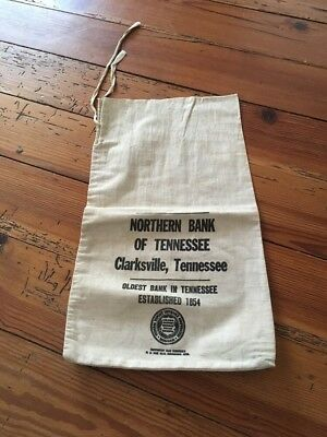 Vintage Bank Bag Northern Bank Of Tennessee Clarksville Tennessee