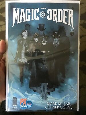 Sdcc 2018 Mark Millar Magic Order #1 Px Exclusive Variant Cover