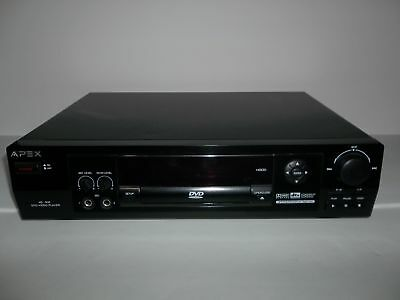 apex ad 800 digital video dvd player w remote dv r383 manual cords rh picclick com Emerson DVD Player Model Ewd Apex DVD Player Troubleshooting