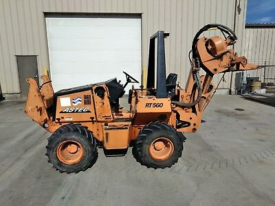 CASE ASTEC 560 no trencher or backhoe vibratory cable plow kubota engine