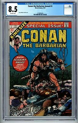 Conan the Barbarian Annual #1 CGC 8.5 Special Academy Award Issue phl1