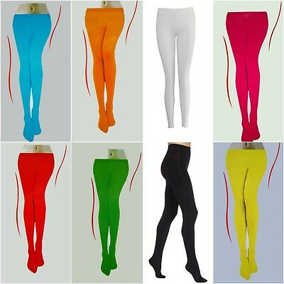 New Plain Colour Tights Pantyhose Elf Christmas Witches Party Event Costumes