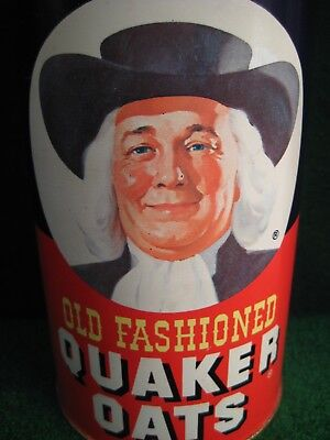 Limited Quaker Oats Collectible Cookie Tin.  1982.  Excellent.