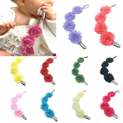 Baby Pacifier Chain Clip Holder Nursing-Teether Dummy Soother Nipple Leash Strap