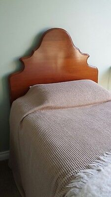Cedar bed heads and ends made in the 1930's - 2 x singles and 1 x double
