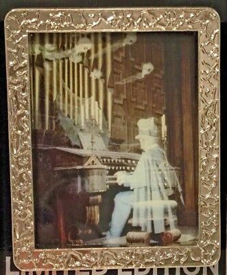 Disney The Haunted Mansion Ghostly Organist LE 300 Pin Silver Frame WDI